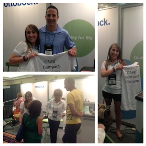 Kate at the Amputee Coalition National Conference in Orlando, June 2013.