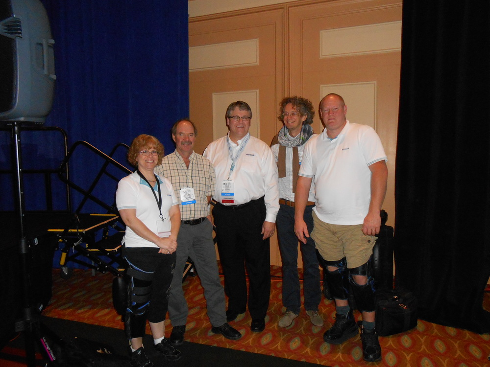 At AOPA with the Ottobock Team