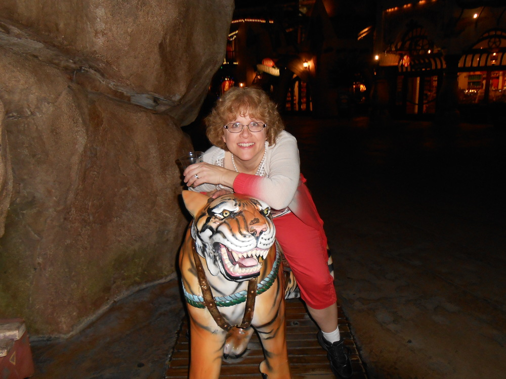 Sharon and tiger
